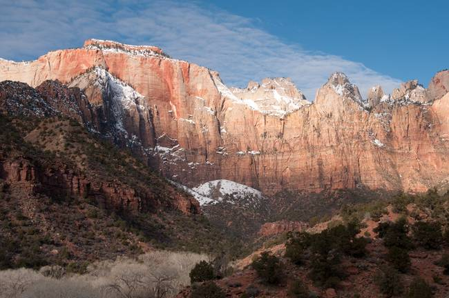 The West Temple and Towers, Zion National Park