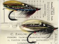 Antique Salmon Flies