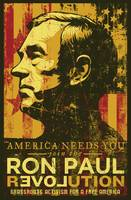 Ron Paul Distressed Poster 2009