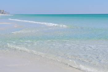 Calm Water Miramar Beach Fl By Lawatha Wisehart
