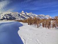 Snow Bound Tetons