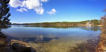 White Pond Panorama (from Sylvan Gardens)
