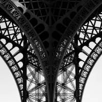 Eifel Tower II Art Prints & Posters by Onay Gençtürk
