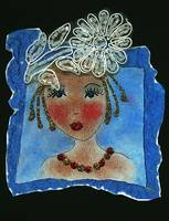 She is Z, print of original art