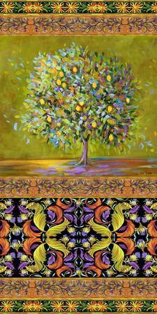 Windtree Tapestry Lemon