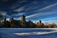 University College in the Snow