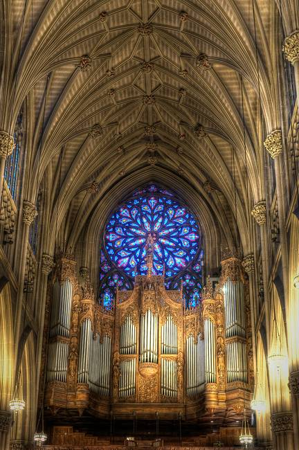 Organ Gallery, St. Patrick's Cathedral