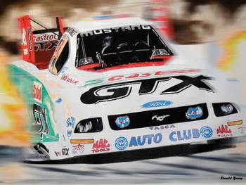 Customize Your Own Car >> john force funny car by Ronald Young