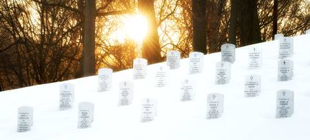 Sunset, Arlington National Cemetery