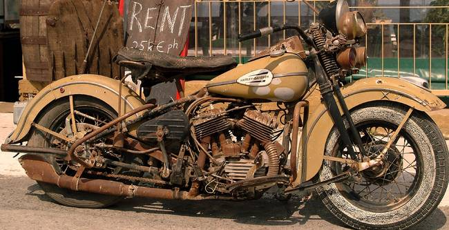 """Old Harley Davidson: Stunning """"Gythion"""" Artwork For Sale On Fine Art Prints"""
