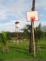 hoop and watch tower, philippines