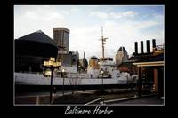 Baltimore Harbor matted