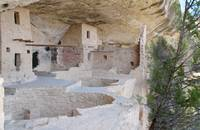 Balcony House kivas and rooms, Mesa Verde by Michael Stephen Wills