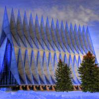 """United States Air Force Academy Chapel"" by iceman9294"
