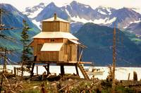 House on Stilts - Seward Alaska