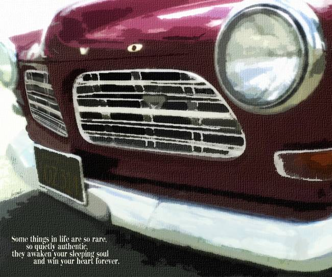 RUBY RED 1965 - CLASSIC & BELOVED VINTAGE CAR