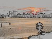 Clearwater Sunset - Altered