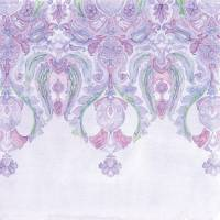 Andalusia Tapestry in Lavender Art Prints & Posters by Sarah Bond