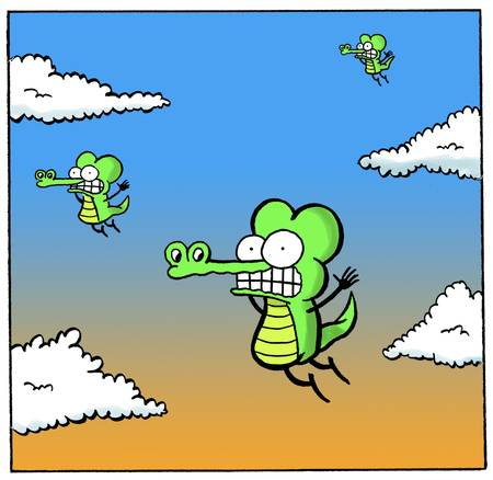 Falling Crocs - Pearls Before Swine