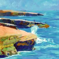 """Point Loma, Sunset Cliffs by RD Riccoboni"" by RDRiccoboni"