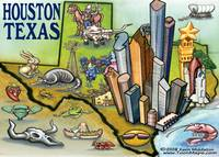 Houston TEXAS Map