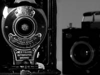 Vintage Cameras in Black & White 2