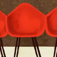 """""""STYLE IS TIMELESS - MID CENTURY EAMES CHAIRS"""" by lisaweedn"""