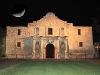 Moon over the Alamo by Carol Groenen