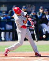 Julio Lugo - Cardinals vs. Mets, Spring Training 2