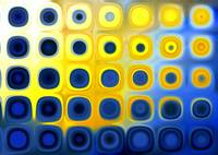 Blue and Yellow A1