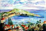 French Riviera Saint Jean Cap Ferrat by Ginette