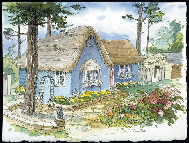 Carmel Blue Cottage