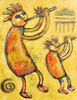 Two Kokopellis Bring Rain