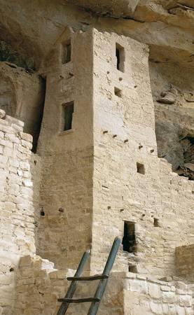 Square Tower, Cliff Palace