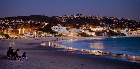 Laguna Beach Night