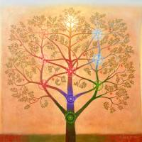 Tree of Life based on the Kabbalah Art Prints & Posters by RichardQuinn