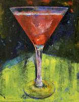 Comfortable Cherry Martini