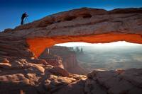 Shooting Mesa Arch - Canyonlands