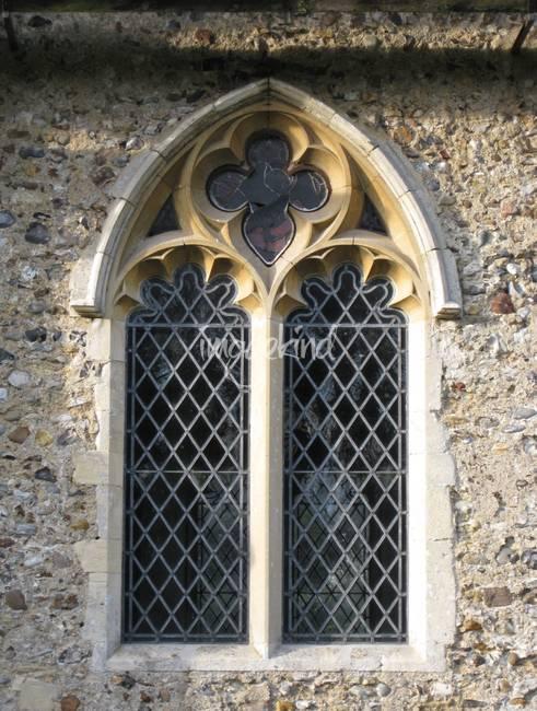 Gothic Church Window By Katie N