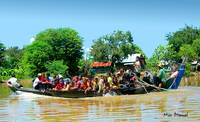 Cambodia boat-people