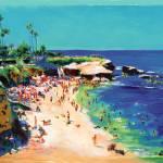 Calm Sea, La Jolla Cove by RD Riccoboni by RD Riccoboni
