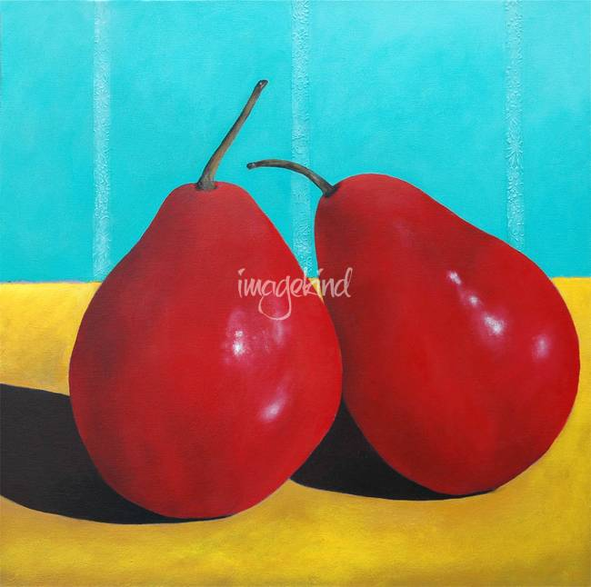 Two Pears en Rouge