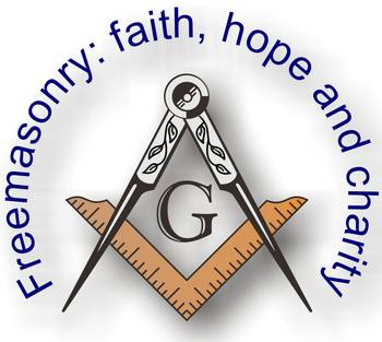 Faith Hope And Charity Square And Compass By Alan Ammann