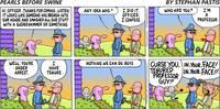 Tenured Professor - Pearls Before Swine by Art by Comics.com