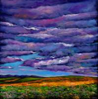 Stormy Skies Over the Prairie