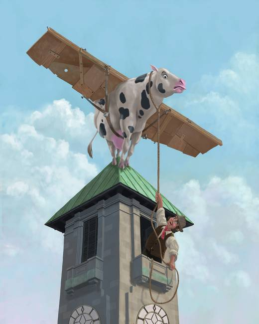 southampton cow flight