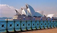 Sydney Opera House with Fence