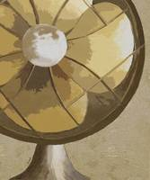 STAY COOL - VINTAGE FAN