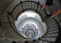 Ponce Inlet Lighthouse Staircase