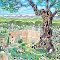 """""""0800_Hebron Machpela cave"""" by Nachshonart"""